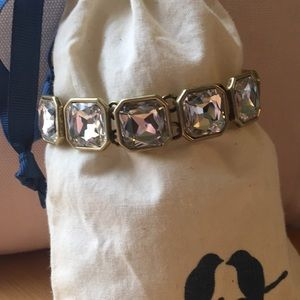 Chloe + Isabel Retro Glam Bracelet (Clear)